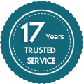 15 Years Trusted Services